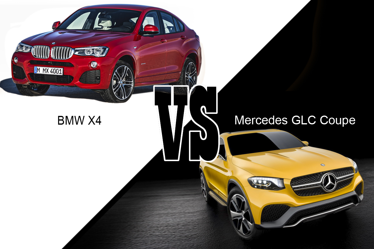 mercedes glc coup vs bmw x4 premier match statique l 39 argus. Black Bedroom Furniture Sets. Home Design Ideas