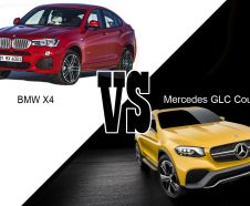 BWM X4 vs Mercedes GLC Coupe