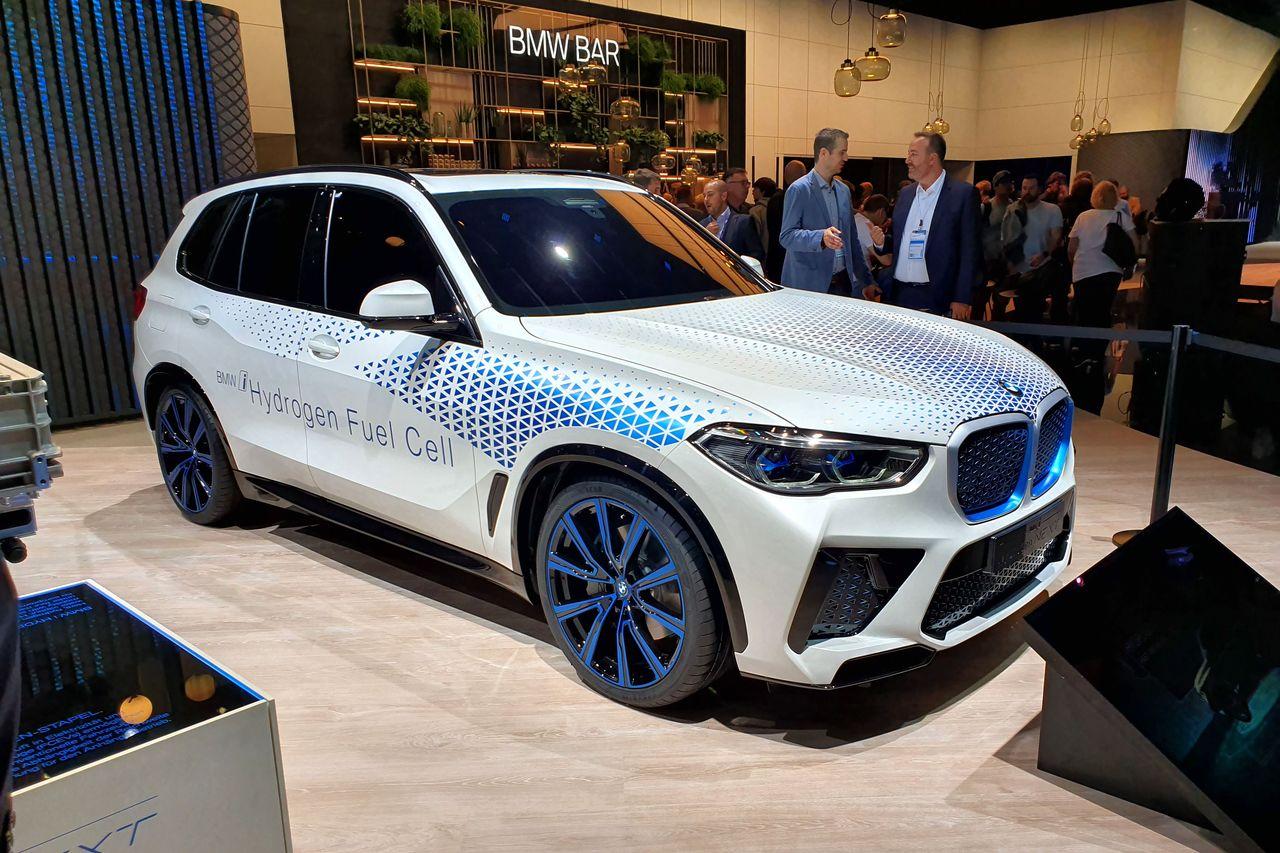 BMW i Hydrogen NEXT : le X5 du futur à Francfort