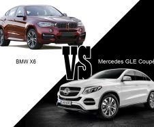Mercedes GLE Coupé VS BMW X6 : le match des coupés SUV