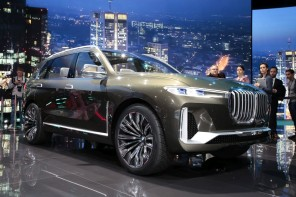 BMW Concept X7 (salon de Francfort 2017)