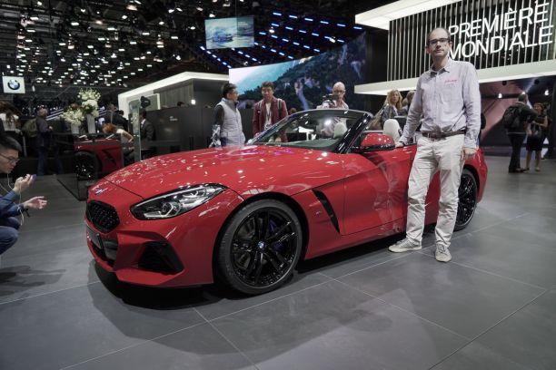 BMW Z Seul Au Monde Au Mondial De LAuto Largus - Auto de