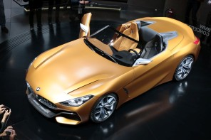 bmw z4 concept au salon de francfort 2017