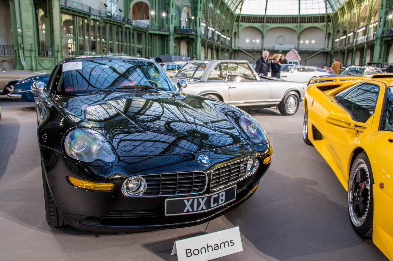 vente bonhams 2016 photos des plus belles voitures au grand palais bmw z8 roadster de 2002. Black Bedroom Furniture Sets. Home Design Ideas