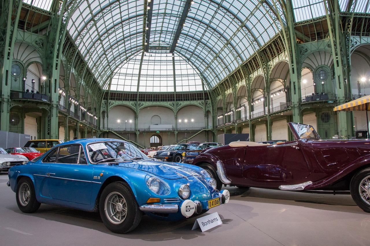 vente bonhams 2016 photos des plus belles voitures au grand palais renault alpine a110 1600s. Black Bedroom Furniture Sets. Home Design Ideas