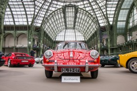 porsche rouge grand palais bonhams