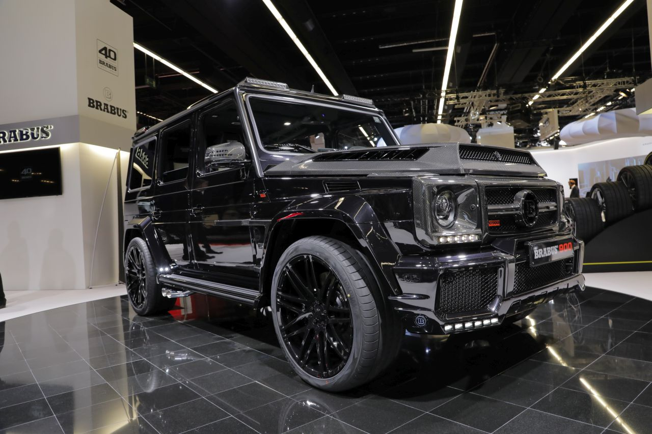brabus 900 one of ten dix exemplaires et pas un de plus photo 2 l 39 argus. Black Bedroom Furniture Sets. Home Design Ideas