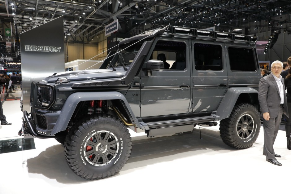 le meilleur et le pire des pr parateurs du salon de gen ve 2018 brabus adventure 4x4 l 39 argus. Black Bedroom Furniture Sets. Home Design Ideas