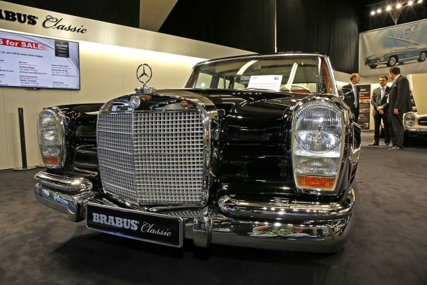 brabus classic d 39 anciennes mercedes benz enti rement refaites neuf l 39 argus. Black Bedroom Furniture Sets. Home Design Ideas