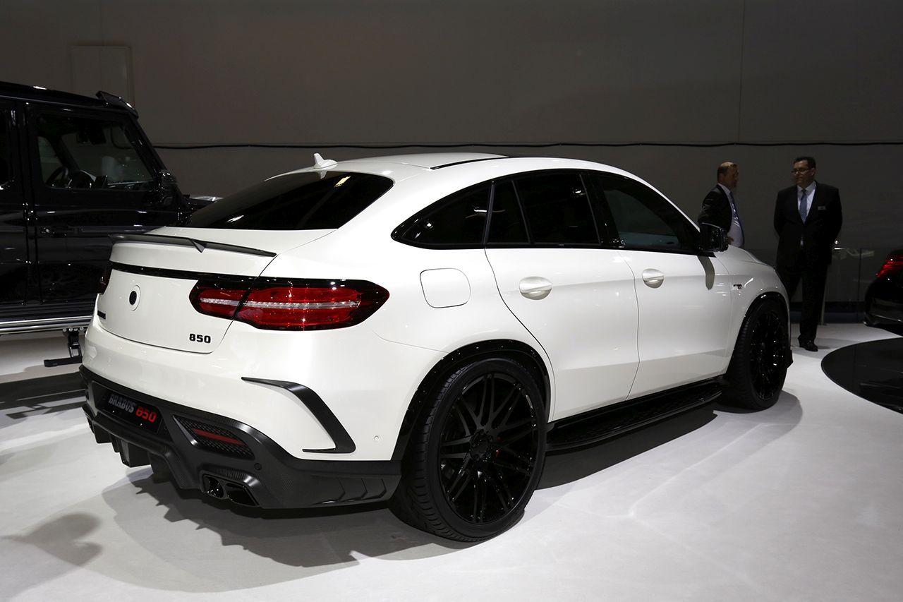 Brabus 850 6 0 Biturbo 4x4 Coupe Une Mercedes Gle Sous