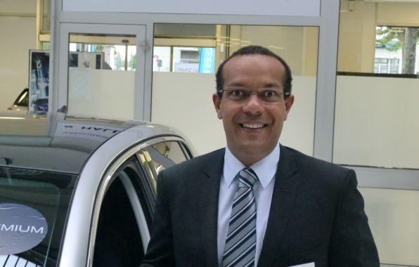 Bruno Poher, nouveau directeur de la filiale de Peugeot Rouen