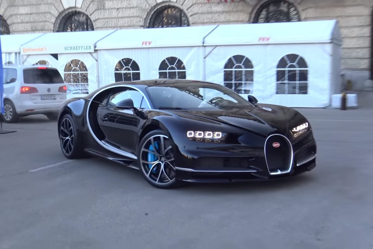 vid o la nouvelle bugatti chiron fait ses premi res vocalises l 39 argus. Black Bedroom Furniture Sets. Home Design Ideas