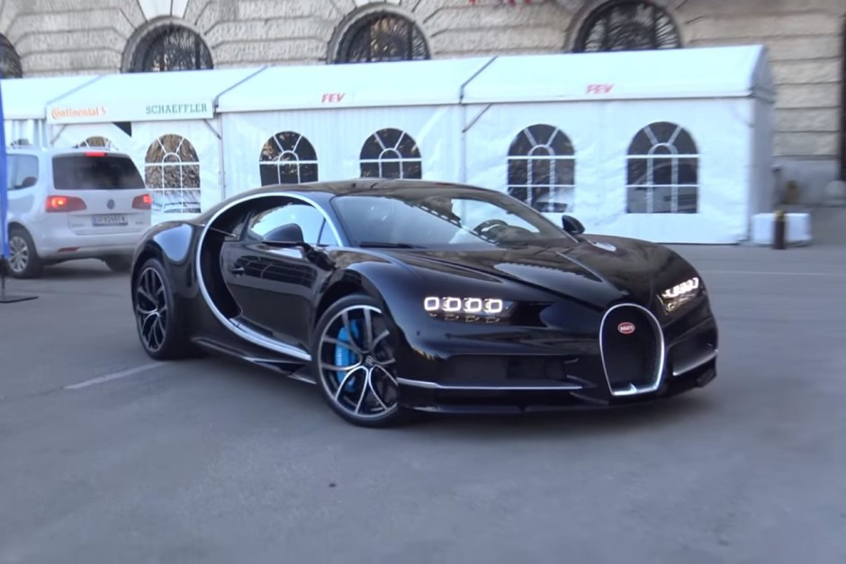 vid o la nouvelle bugatti chiron fait ses premi res vocalises photo 1 l 39 argus. Black Bedroom Furniture Sets. Home Design Ideas