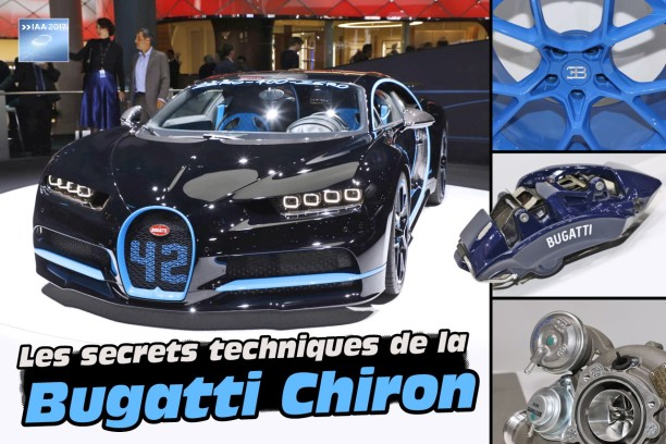 bugatti chiron tous les secrets techniques de l 39 hypercar. Black Bedroom Furniture Sets. Home Design Ideas