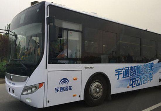 Véhicule autonome : les bus aussi peuvent se conduire tout seul