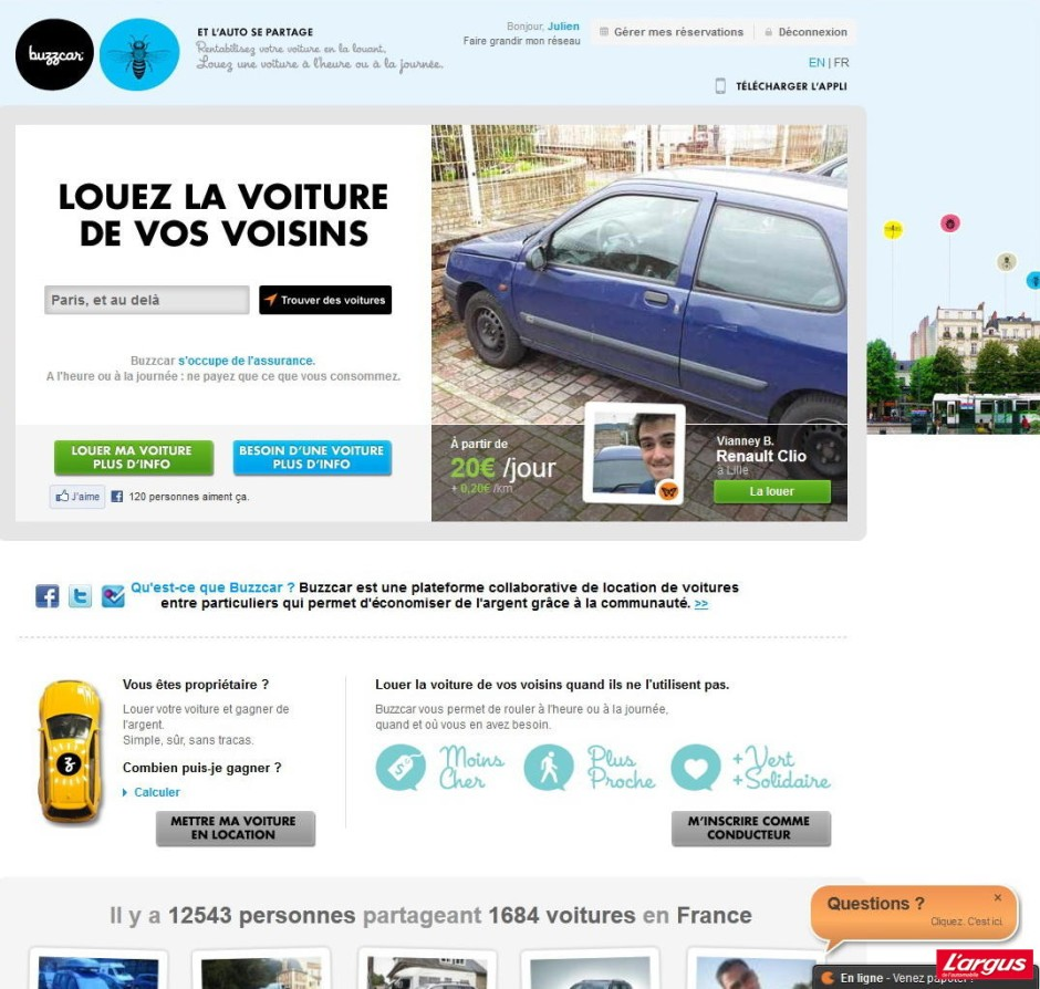 votre voiture dort au garage louez la photo 2 l 39 argus. Black Bedroom Furniture Sets. Home Design Ideas