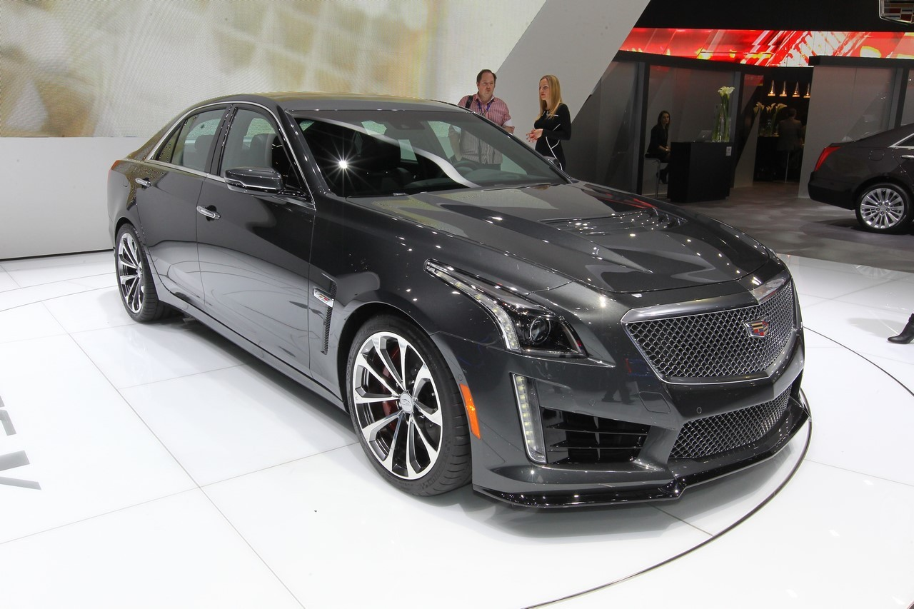 cadillac cts v 2015 640 ch pour un record l 39 argus. Black Bedroom Furniture Sets. Home Design Ideas