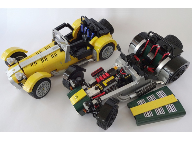 la caterham super seven bient t en lego l 39 argus. Black Bedroom Furniture Sets. Home Design Ideas