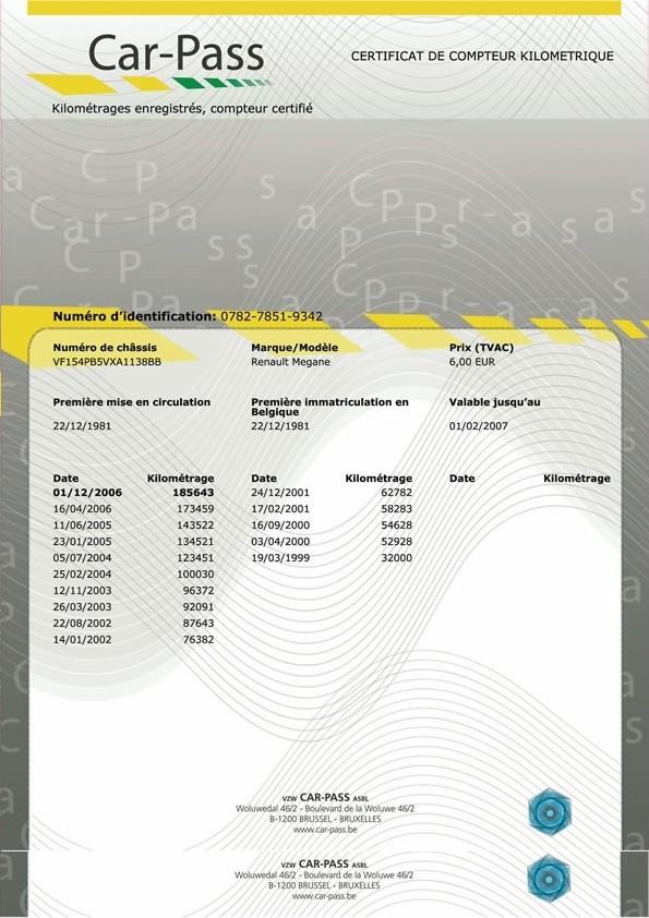 Fraude au compteur kilom trique l 39 omerta fran aise - Controle technique pace ...