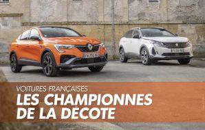 voitures françaises décote