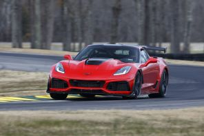 chevrolet corvette ZR1 2018 rouge
