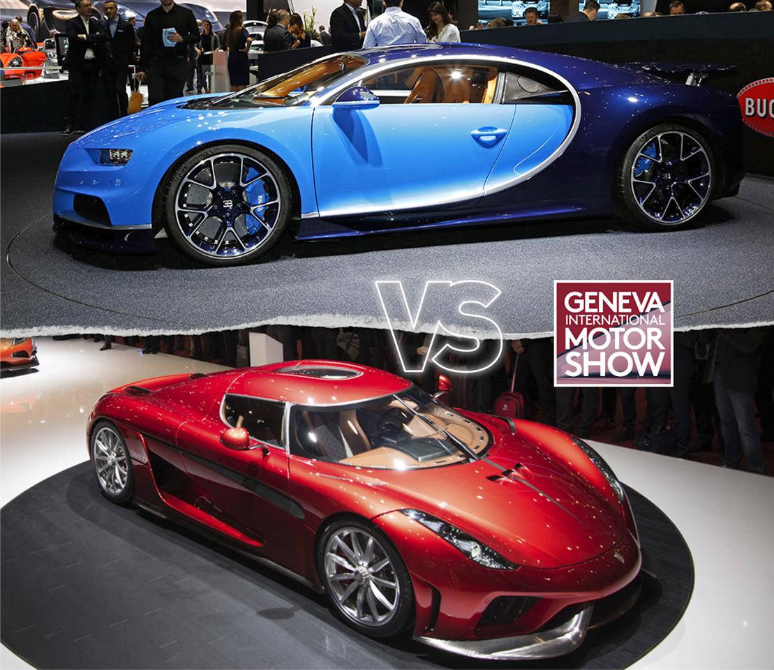 Koenigsegg Ccxr Vs Bugatti Veyron: Bugatti Chiron VS Koenigsegg Regera : Le Match Des 1500