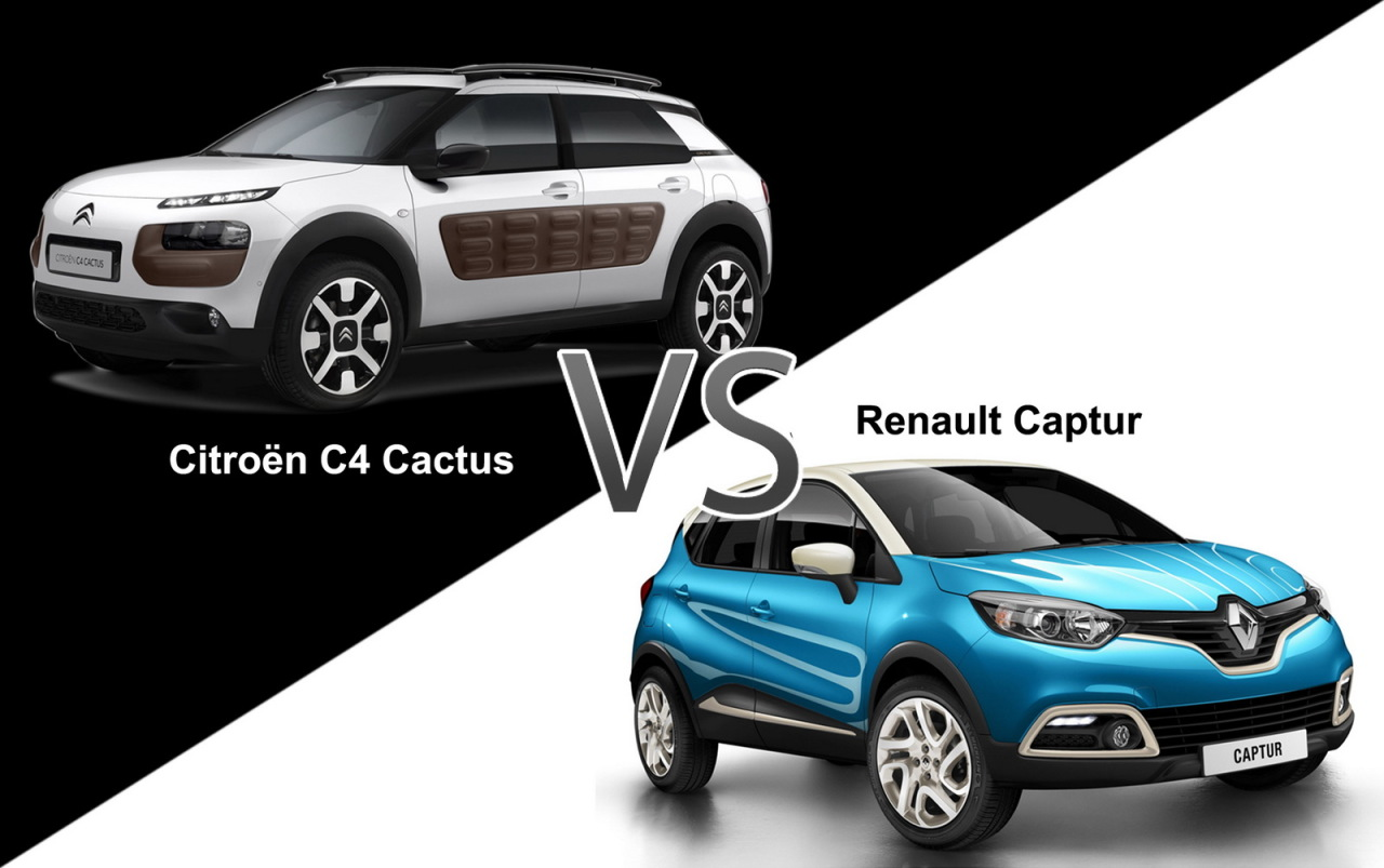 citro n c4 cactus vs renault captur match des prix. Black Bedroom Furniture Sets. Home Design Ideas