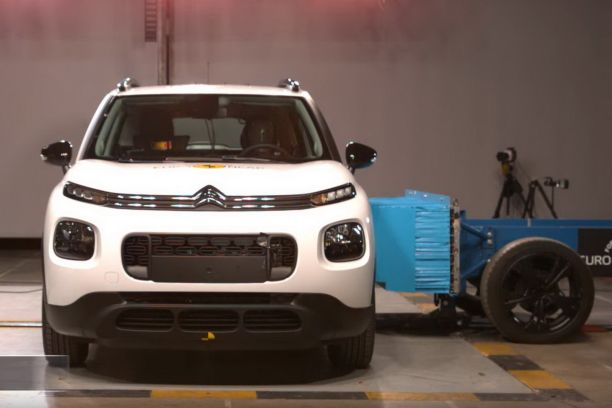 Crash-test Euro NCAP du Citroën C3 Aicross