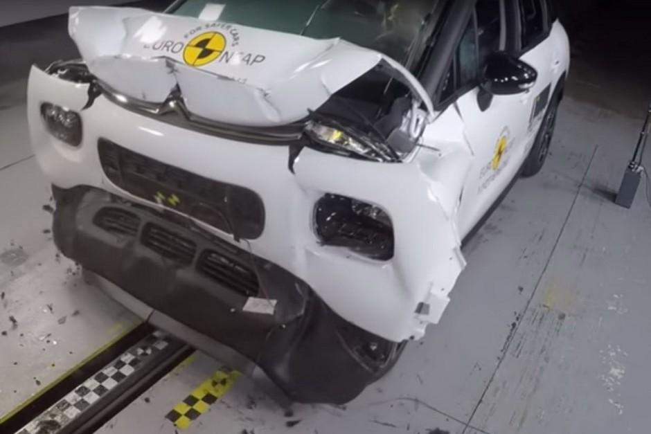 Crash-test Euro NCAP du Citroën C3 Aicross