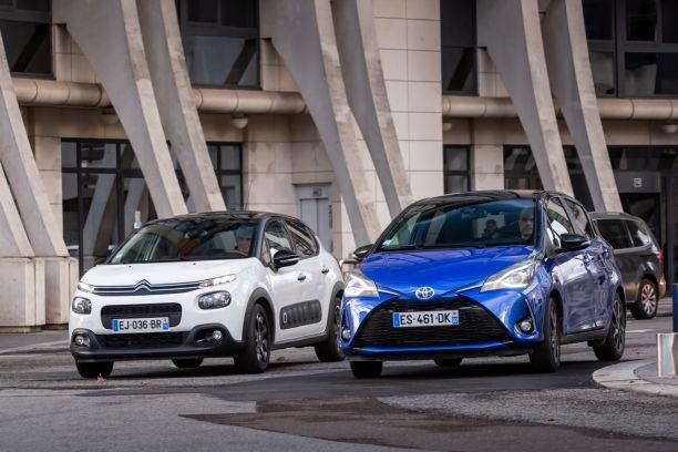 Voiture Hybride Comparatif >> Essai Comparatif La Citroen C3 Essence Defie La Toyota