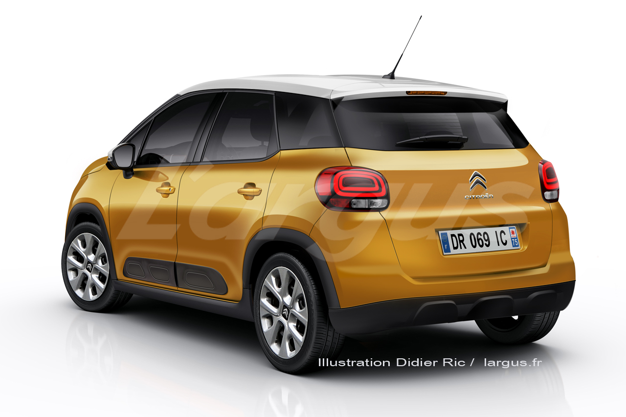 opel crossland x toutes les infos sur le clone du citro n c3 aircross photo 9 l 39 argus. Black Bedroom Furniture Sets. Home Design Ideas