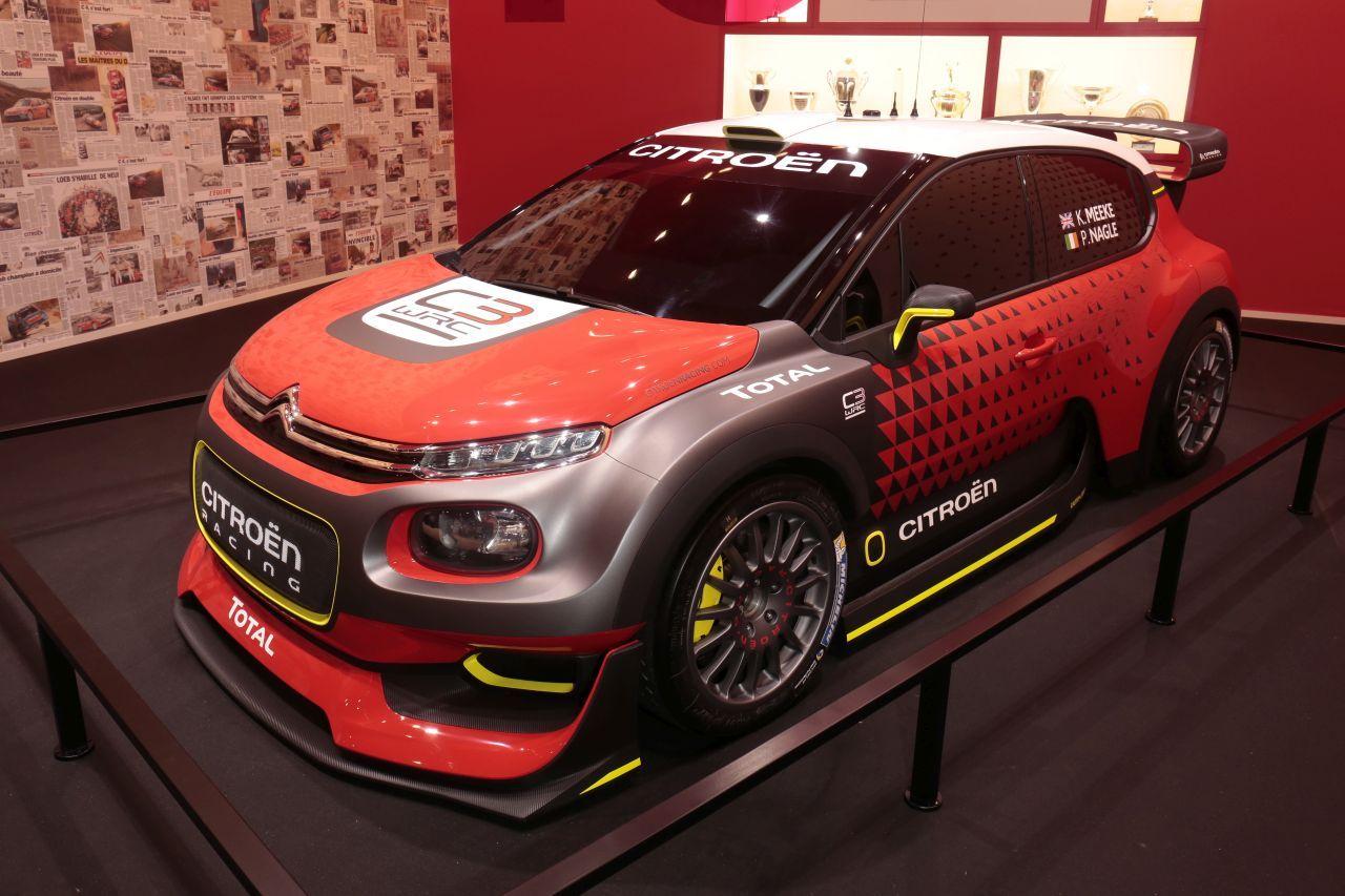 les premi res mondiales au salon de l 39 automobile de paris 2016 citro n c3 wrc l 39 argus. Black Bedroom Furniture Sets. Home Design Ideas