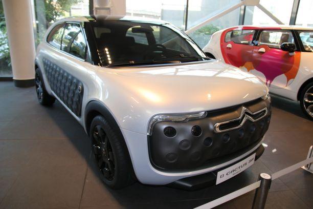 577913797a Il est très rare que les constructeurs automobiles nous montrent les pistes  explorées et non retenues dans le développement d'un modèle. Voici les  Citroën ...