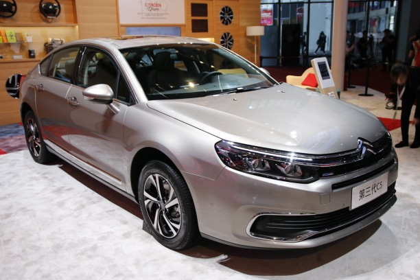 Citroën C5 chine 2017 restylage