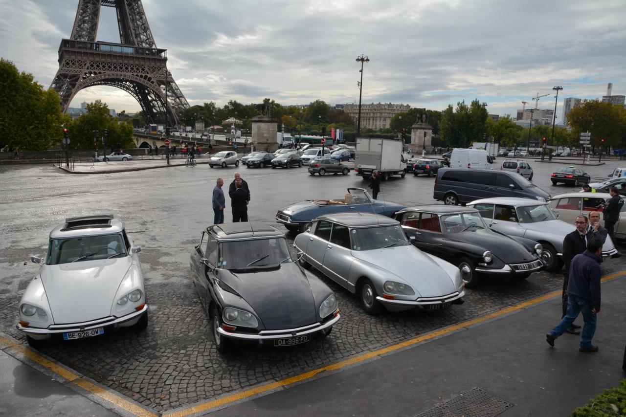 Citro n ds des balades gratuites dans paris le 6 octobre - Tour eiffel photos gratuites ...