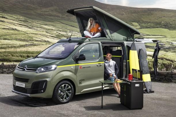 citro n spacetourer rip curl concept un camping car 4x4 sans complexe l 39 argus. Black Bedroom Furniture Sets. Home Design Ideas