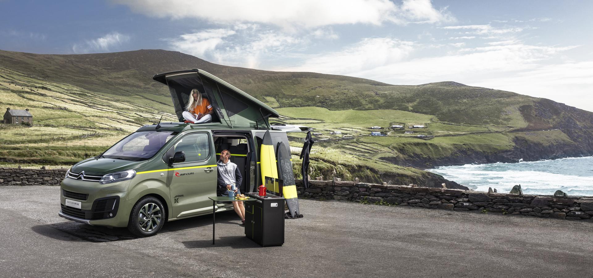citro n spacetourer rip curl concept un camping car 4x4 sans complexe photo 2 l 39 argus. Black Bedroom Furniture Sets. Home Design Ideas