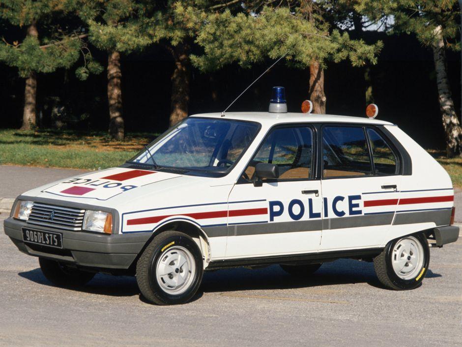 citroen visa police