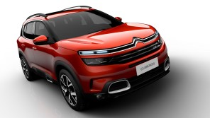 Citroën C5 Aircross salon shanghai 2017 orange Volcano