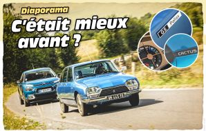 Citroën GS vs Citroën C4 Cactus : la rencontre en images