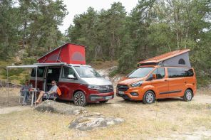 Match VW California 6.1 vs Ford Transit Nugget