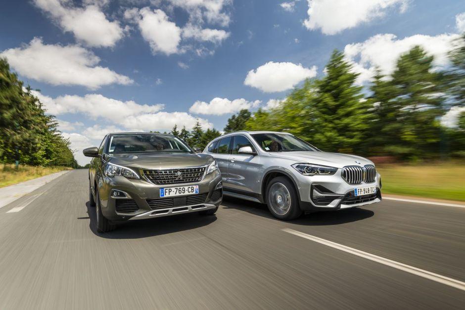BMW X1 vs Peugeot 3008 : le match des SUV hybrides ...