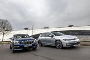 VW Golf 8 vs BMW Série 1