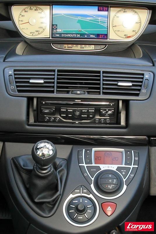 Citroën C8 Vie à bord