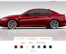 Alfa Romeo Giulia Quadrifoglio vue de profil