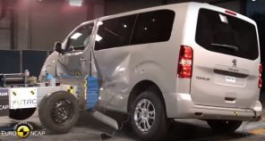 crash test latéral peugeot traveller