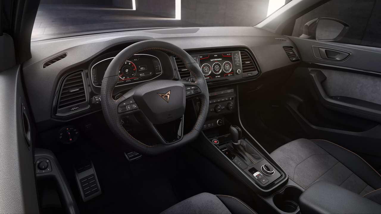 cupra ateca 2018 infos et photos du seat ateca de 300 ch photo 29 l 39 argus. Black Bedroom Furniture Sets. Home Design Ideas