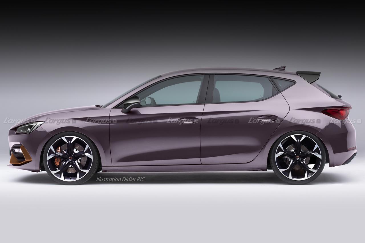 Cupra Leon 2020 : la version sportive de la Seat Leon sera hybride !