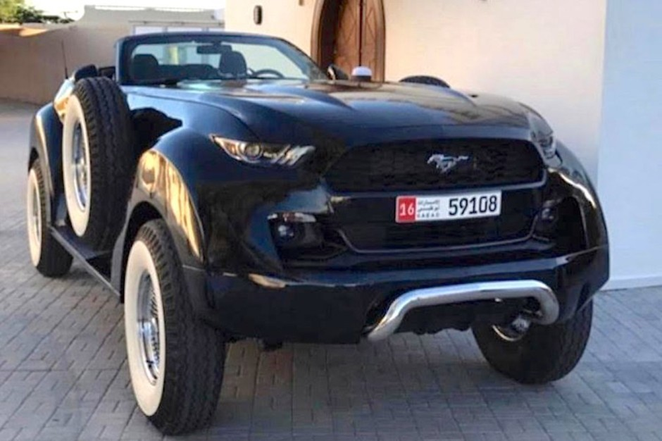 une ford mustang 4x4 rallong e et faite sur mesure photo 1 l 39 argus. Black Bedroom Furniture Sets. Home Design Ideas