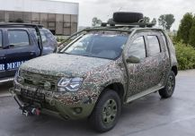 Dacia Duster camouflage